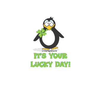 It's Your Lucky Day Penguin