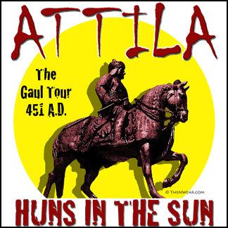 Attila Huns in the Sun Tour