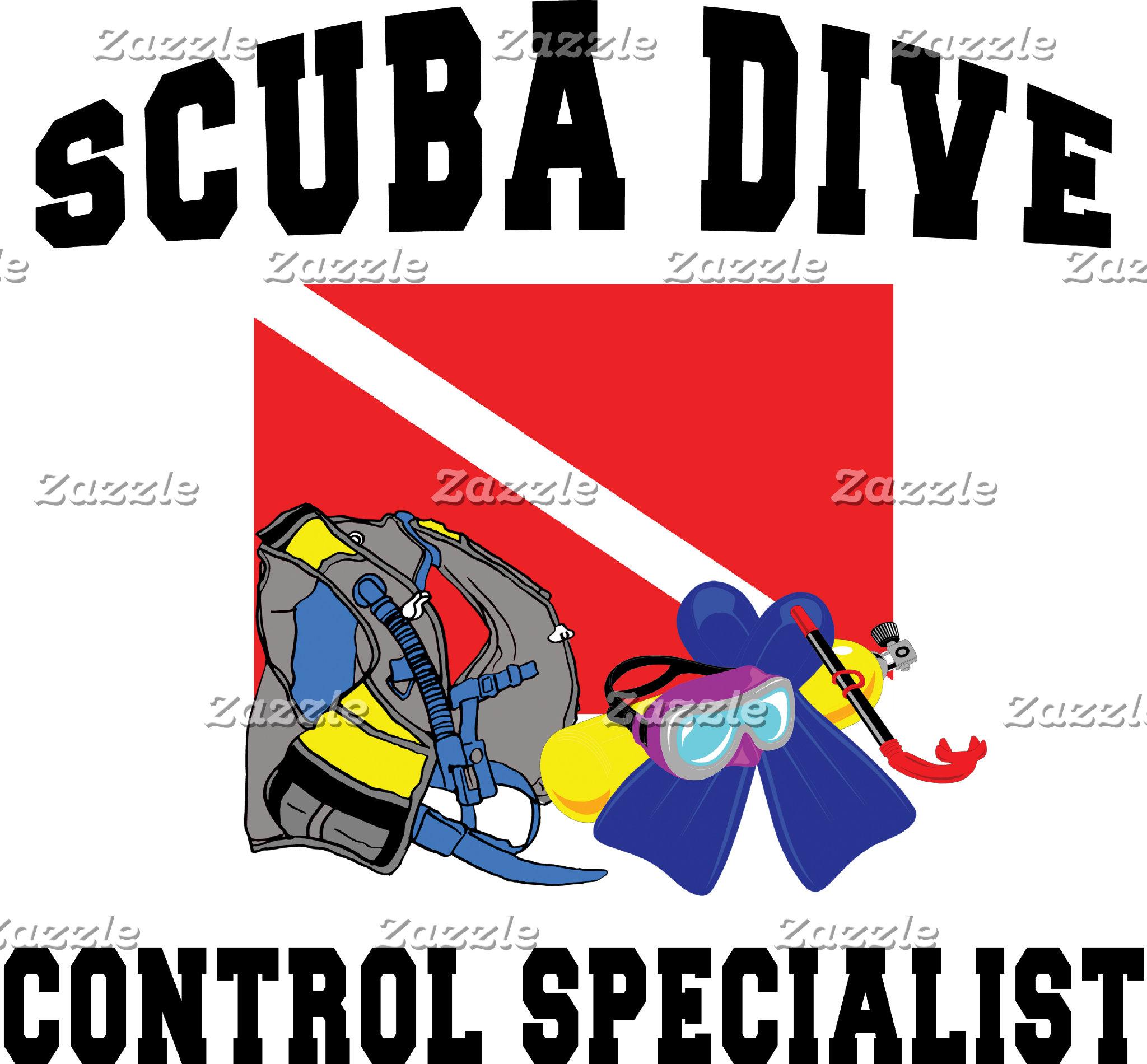 SCUBA Diver Control Specialist T-Shirt Gift Card