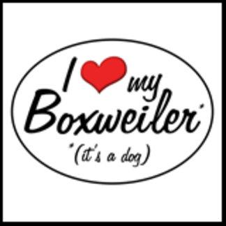 It's a Dog! I Love My Boxweiler
