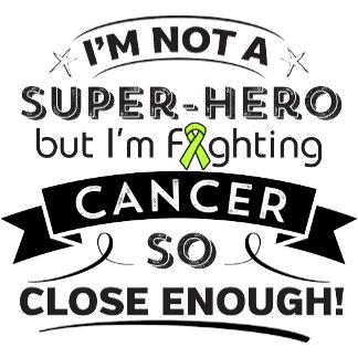 Lymphoma Cancer Not a Super-Hero