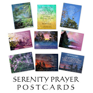 Serenity Prayer Postcards