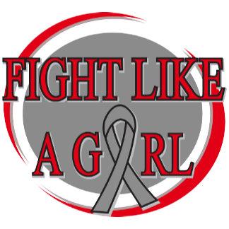 Brain Tumor Fight Like A Girl Circular