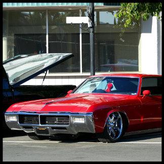Classic Red Car 6
