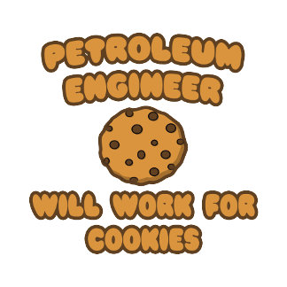 Petroleum Engineer  .. Will Work for Cookies