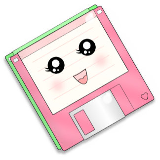 Pink Diskette