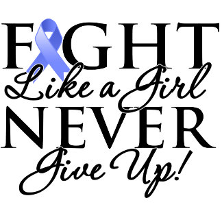 Stomach Cancer Fight Like a Girl Never Give Up