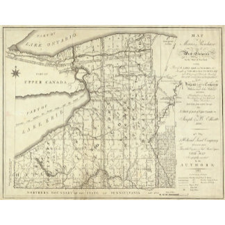 Map of Morris's Purchase or West Geneseo