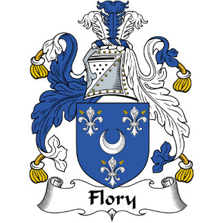 Flory Family Crest / Coat of Arms
