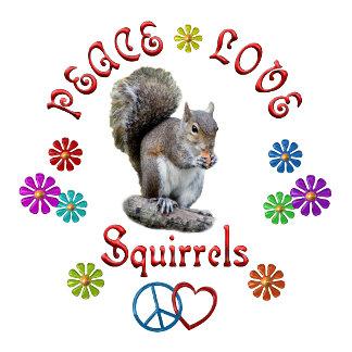Peace Love SQUIRRELS