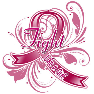 Multiple Myeloma Fight Like a Girl Flourish