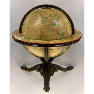 Franklin Terrestrial Globe 12 Inches in Diameter