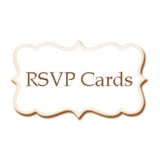 •RSVP Cards