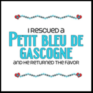 I Rescued a Petit Bleu de Gascogne (Male Dog)