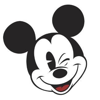 Classic Mickey Wink