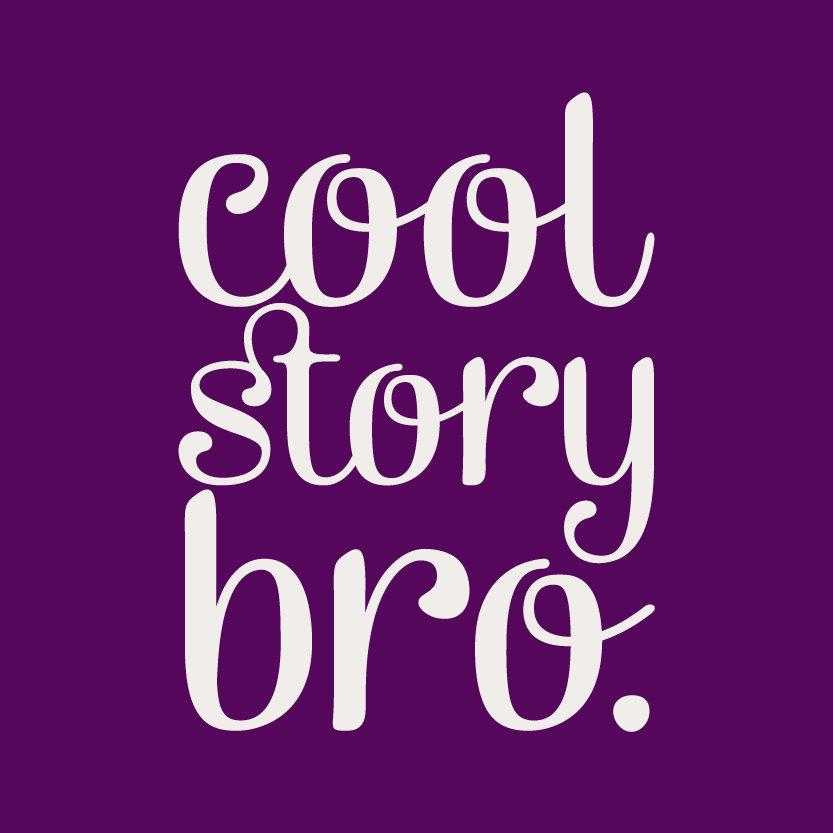 Cool Story Bro Purple
