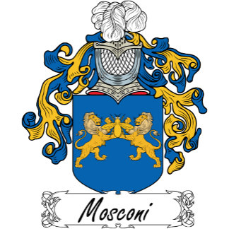 Mosconi Family Crest