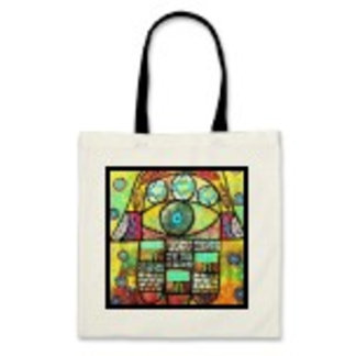 TALLIS & TEFILLIN Tote Bags - Jewish - Judaica
