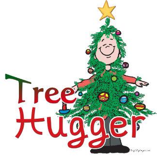 Christmas Tree Hugger T-shirts, Decor, Cards