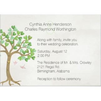 The Loving Tree Custom Wedding Set