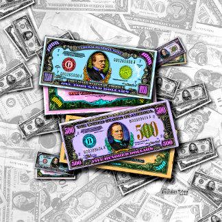 n. MONEY - BIG BUCKS POP ART