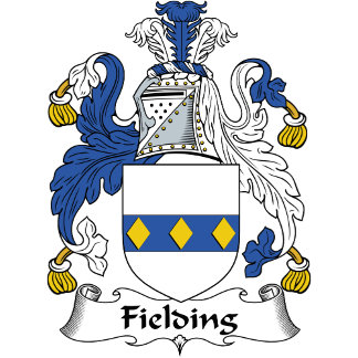 Fielding Family Crest / Coat of Arms