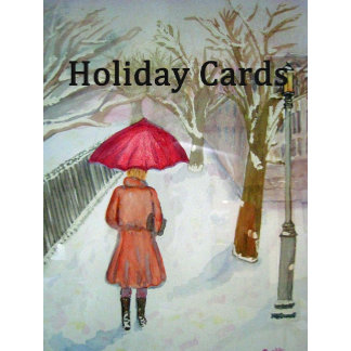 Holiday Cards and Stamps