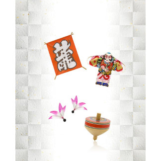 Game accessories for Japanese new year