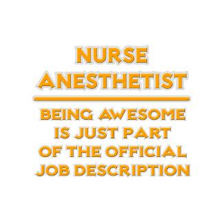 Nurse Anesthetist .. Official Job Description