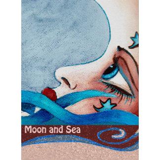 Moon and Seahorses