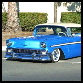 Classic Blue Car 2