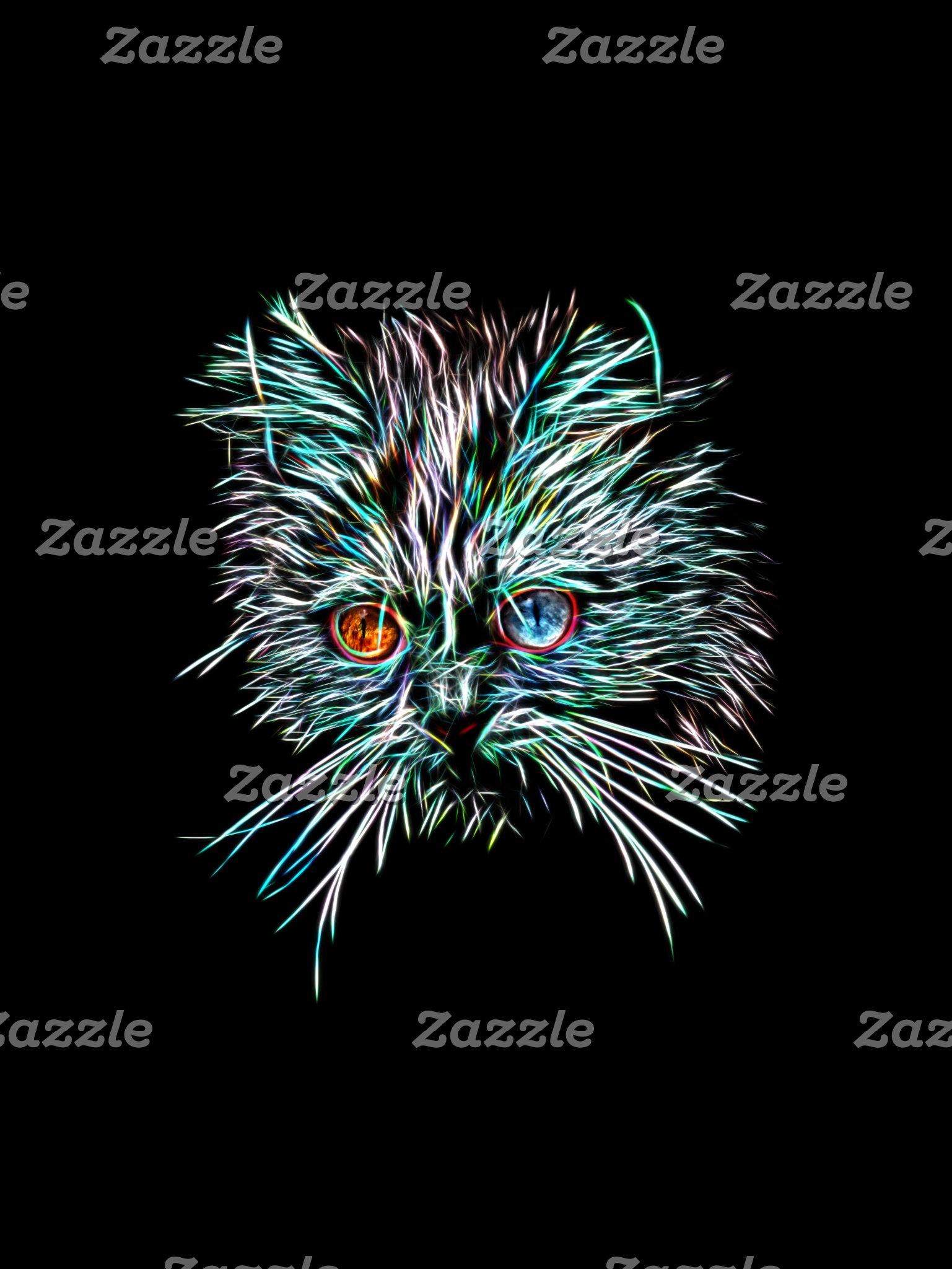 Odd-Eyed Glowing Cat