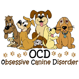 Ocd Obsessive Canine Disorder Gifts