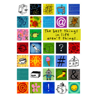 """""""Best Things in Life Poster Print"""""""