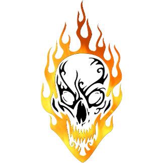 Flaming Skull Tattoos