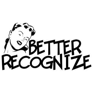 Better Recognize Retro Lady - Multiple Colors