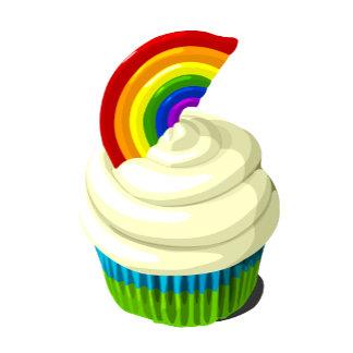 Rainbow cupcake template product