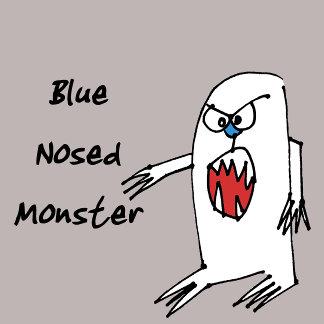 Blue Nose Monster