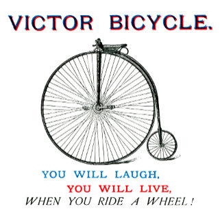 1880 Victor Bicycle Poster no.2