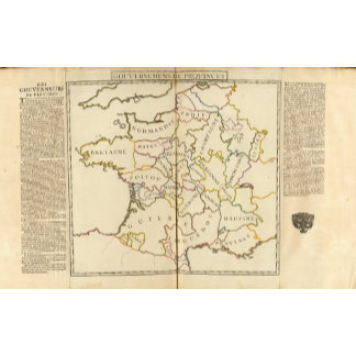 France, Providences and Boundaries