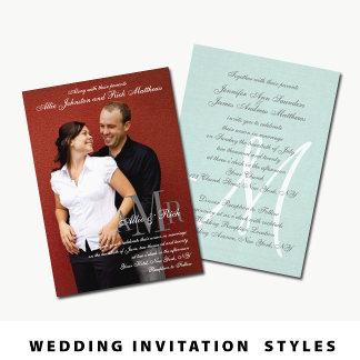 Wedding Invitation Styles