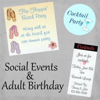 Social Events and Adult Birthday