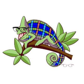 Hipster Chameleon