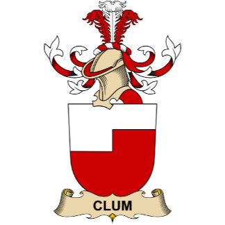 Clum Family Crests