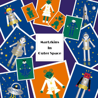 Martzkins In Outer Space