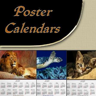 5. 2016 Poster CALENDARS