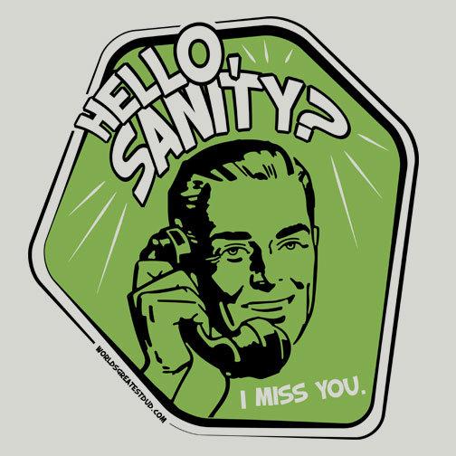 Hello Sanity?