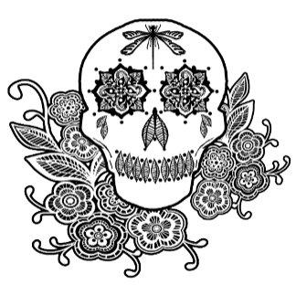 Henna Art Skull
