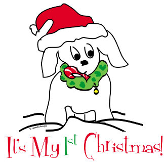 My 1st Christmas Clothing and Gifts - Puppy Dog