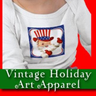 Vintage Holiday Art